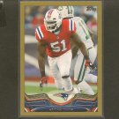 2013 Topps JEROD MAYO Gold Border #/2013 - Patriots & Tennessee Volunteers