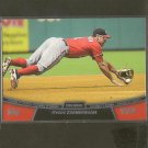 2013 Topps RYAN ZIMMERMAN Chase it Down - Washington Nationals