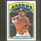 2013 Topps JOSE ALTUVE 1972 Mini - Houston Astros