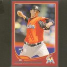 2013 Topps JOSE FERNANDEZ Red Border RC - Miami Marlins