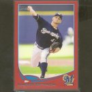 2013 Topps MARCO ESTRADA Red Border RC - Milwaukee Brewers