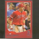 2013 Topps MIKE TROUT Red Border RC - Los Angeles Angels