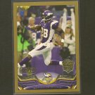 2013 Topps ADRIAN PETERSON Gold Border #/2013 - Vikings & Oklahoma Sooners