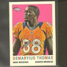 2013 Topps DEMARYIUS THOMAS 1959 Mini - Broncos & Georgia Tech Yellow Jackets