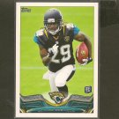 DENARD ROBINSON 2013 Topps Rookie Card RC - Jaguars & Michigan Wolverines