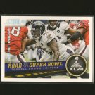 TERRELL SUGGS 2013 Score Artist's Proof #/32 - Ravens Super Bowl XLVII