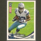 TERRANCE WILLIAMS 2013 Topps Rookie Kickoff RC - Cowboys & Baylor Bears