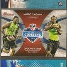 DRE KIRKPATRICK & MORRIS CLAIREBORNE 2012 Bowman NFL Scouting Combine Rookie RC
