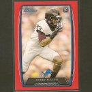 COREY FULLER 2013 Bowman RED Parallel Rookie Card RC - Detroit Lions & Virginia Tech Hokies