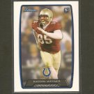 BJOERN WERNER 2013 Bowman Rookie Card RC - Indianapolis Colts & Florida State Seminoles