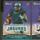 JUSTIN BLACKMON 2012 Bowman Rookie Card RC - Jaguars & Oklahoma State Cowboys
