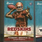 ROBERT GRIFFIN III 2012 Bowman Rookie Card RC - Redskins & Baylor Bears