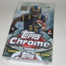 2013 Topps Chrome Football Sealed/Unopened HOBBY BOX - 24 packs - Lacy, Geno Smith, Gio, Cordarrelle