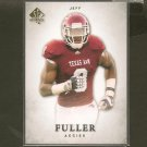 JEFF FULLER 2012 SP Authentic Rookie RC -  Texas A&M Aggies