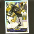 TORREY SMITH 2013 Topps Chrome Refractor - Ravens & Maryland Terrapins