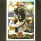 BRANDON WEEDEN 2013 Topps Chrome Refractor - Browns & Oklahoma State Cowboys