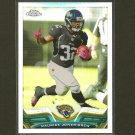 MAURICE JONES-DREW 2013 Topps Chrome Refractor - Jaguars & UCLA Bruins
