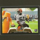 BARKEVIOUS MINGO 2013 Topps Chrome RC Rookie BLACK Refractor #/299- Browns & LSU Tigers