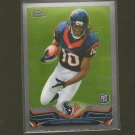 DeANDRE HOPKINS 2013 Topps Chrome Rookie RC - Texans & Clemson Tigers