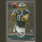 ZACH ERTZ  2013 Topps Chrome Rookie RC - Eagles & Stanford Cardinal