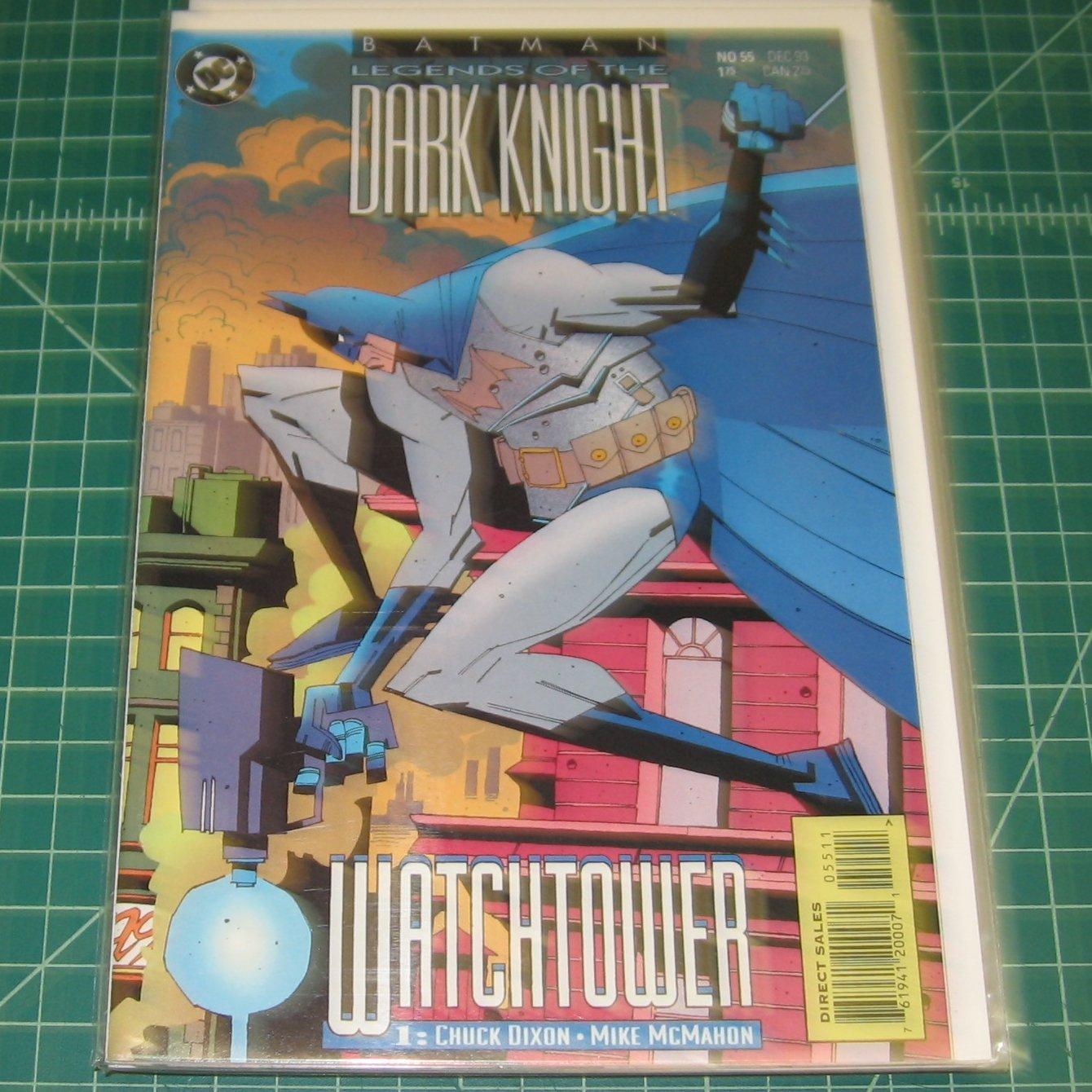 BATMAN Legends of the Dark Knight #55 - Chuck Dixon - 1993 DC Comics - FIRST PRINT