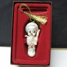 LENOX China My Tweety Stocking Christmas Tree Ornament - Original Package