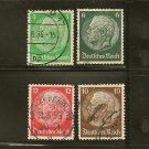 Germany Reich Postage Stamp Lot x6 - Scott # 222,223,418,419,421,422,