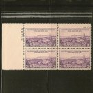 1935 US Postage Stamp Plate Block 3 cent - California Pacific International Expo - Scott #773