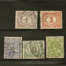 Netherlands Postage Stamp Lot x8 - A10,A11,A20 Scott # 23,55,56,60,62,65,116,266
