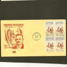 1961 USPS Kolor Kover FDC Scott #1187 Block of 4- Washington, DC- Frederic Remington-First Day Issue