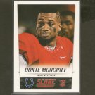 DONTE MONTCRIEF 2014 Score Rookie RC - Ole Miss & Colts