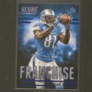 CALVIN JOHNSON 2014 Score Franchise - Georgia Tech & Detroit Lions
