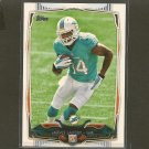 JARVIS LANDRY 2014 Topps Rookie RC - Dolphins & LSU Tigers