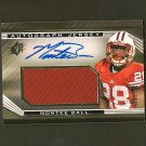 MONTEE BALL 2013 SPx Autograph Patch Relic RC #331/475 - Broncos & Wisconsin Badgers