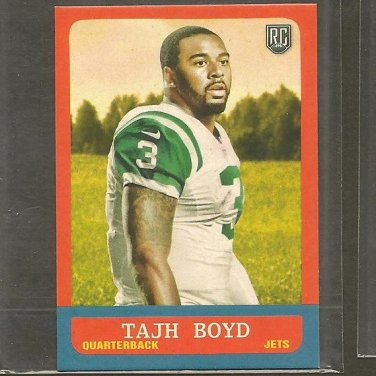 TAJH BOYD 2014 Topps 1963 MINI Rookie RC - Jets & Clemson Tigers