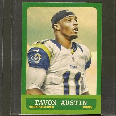 TAVON AUSTIN 2014 Topps 1963 MINI - Rams & West Virginia Mountaineers