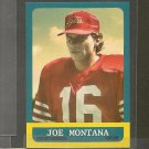 JOE MONTANA 2014 Topps 1963 MINI - 49ers & Notre Dame Fighting Irish
