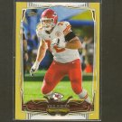 ERIC FISHER 2014 Topps Gold Border #792/2014- Chiefs & Central Michigan
