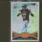 ALSHON JEFFERY 2012 Topps Chrome Autograph Refractor RC #152/178 - Chicago Bears & Gamecocks