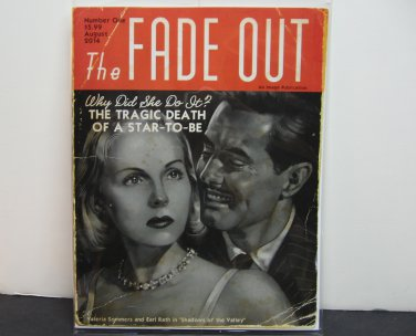 THE FADE OUT 2014 Comic Book #1 VARIANT Image Comics - Ed Brubaker & Sean Phillips