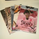 PRETTY DEADLY Comic Book Lot/Set/Run #1,2,3,4,5 First Print Image - Kelly Sue Deconnick