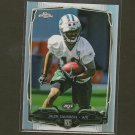 JALEN SAUNDERS 2014 Topps Chrome Refractor Rookie RC NY Jets & Oklahoma Sooners