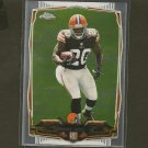 TERRANCE WEST 2014 Topps Chrome Rookie RC - Browns & Towson Tigers