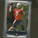 ZACH METTENBERGER 2014 Topps Chrome Rookie RC - Titans & LSU Tigers