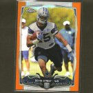 DEVIN STREET 2014 Topps Chrome ORANGE Rookie RC Dallas Cowboys & Pitt Panthers