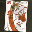 2014-15 Boston University Terriers Hockey Card Team Set - Jack Eichel, Matt Gryzelcyk Rookie RC
