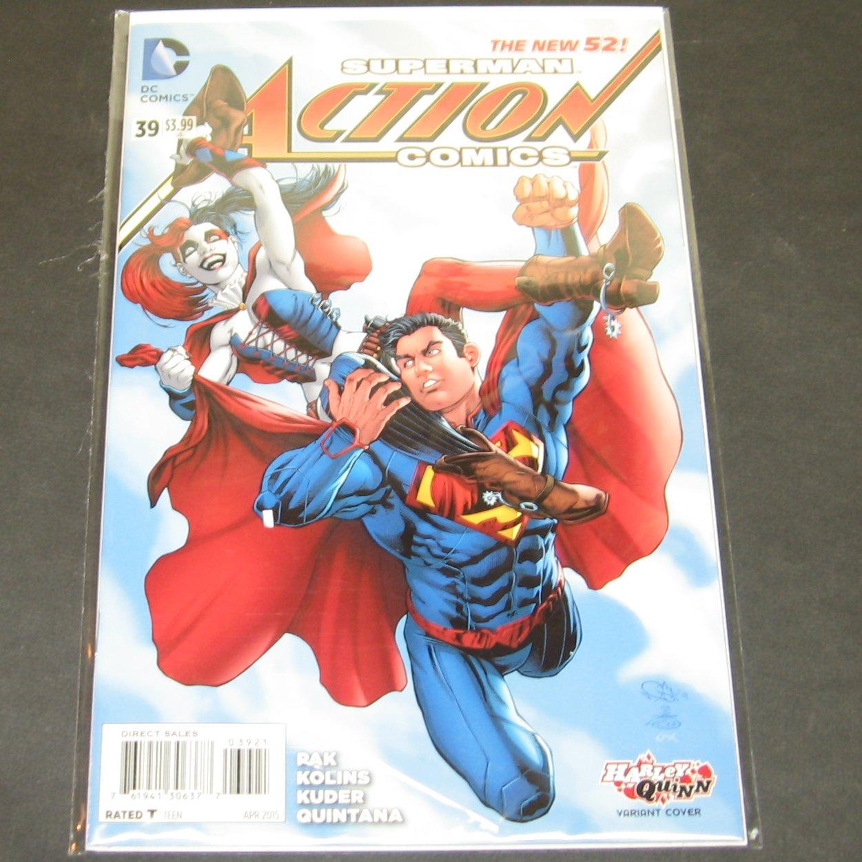 Action comics 2015 comic book 39 dc comics new 52 for Bureau 39 superman