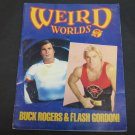 WEIRD WORLDS Magazine #7 Scholastic 1981 Buck Rogers,Flash Gordon,Star War,UFO Encounters