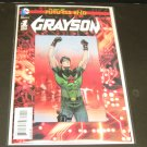 Dick GRAYSON 2014 Future's End Comic Book #1 Lenticular Cover DC Comics - New 52