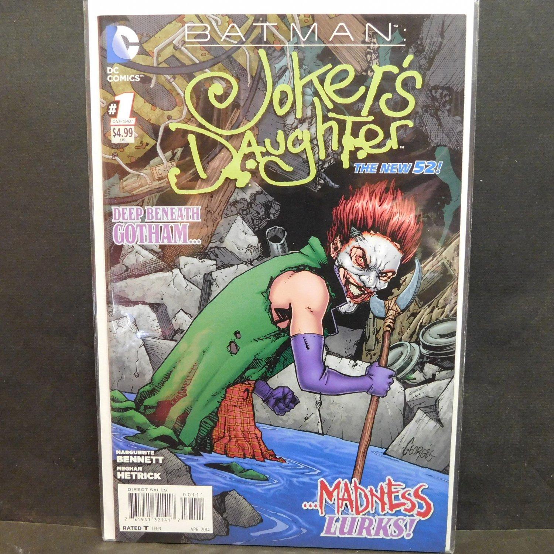 jokers daughter new 52 comic